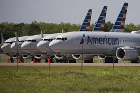 American Airlines aircrafts